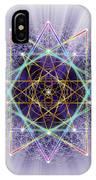 Sacred Geometry 245 IPhone Case