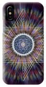 Sacred Geometry 317 IPhone Case