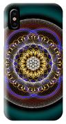 Sacred Geometry 332 IPhone Case