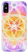 Sacred Geometry 67 IPhone Case