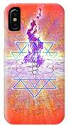 Sacred Geometry 73 IPhone Case