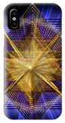 Sacred Geometry 91 IPhone Case