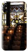Sacred Heart Prayer Candles IPhone Case