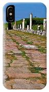 Sacred Road To Asclepion In Pergamum-turkey  IPhone Case