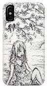 Sad Little Girl IPhone Case