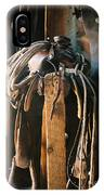 Saddle And Chaps IPhone Case