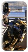 Saddle Bronc Riding Competition IPhone Case