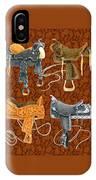 Saddle Leather IPhone Case