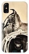 Saddle IPhone Case