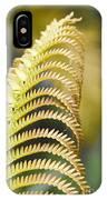 Sadleria Cyatheoides Amau Fern Maui Hawaii IPhone Case