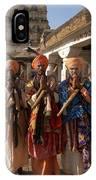Sadus Holy Men Of India IPhone Case