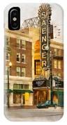 Saenger Theatre New Orleans Paint 2 IPhone Case