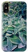 Sage In The Garden IPhone Case