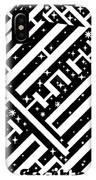 Sagittarius Maze  IPhone Case