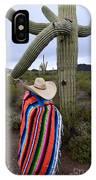 Saguaro Cactus The Visitor 1 IPhone Case