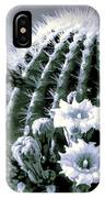 Saguaro In Bloom IPhone Case