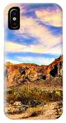 Saguaro Superstition Mountains Arizona IPhone Case