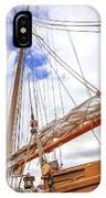 Sailboat Rigging IPhone Case