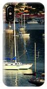 Sailboats Sunrise IPhone Case