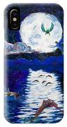 Sailing In The Moonlight IPhone Case