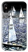 Sailing On Blue IPhone Case