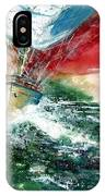 Sailing On The Breeze IPhone Case