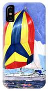 Sailing Primary Colores Spinnaker IPhone Case