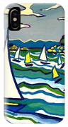 Sailing School Manchester By-the-sea IPhone Case