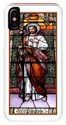 Saint Joseph  Stained Glass Window IPhone Case