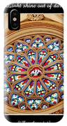 Saint Josephs Cathedral Stained Glass Window Buffalo New York IPhone Case