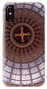 Saint Nicholas Church Dome Interior In Amsterdam IPhone Case