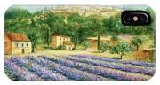 Saint Paul De Vence And Lavender IPhone Case