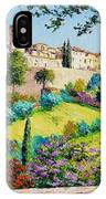 Saint Paul De Vence IPhone Case