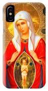 Saint Pomozhenie IPhone Case