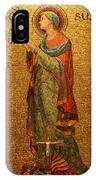 Saint Susanna Altar IPhone Case