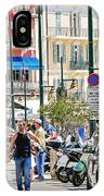 Saint Tropez Stroll IPhone Case