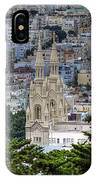Saints Peter And Paul Church In San Francisco IPhone Case