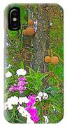Sala Tree And Orchids At Buddhist University In Chiang Mai-thail IPhone Case
