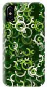 Salad Geometric Circle Segment Pattern IPhone Case