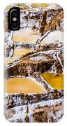 Salinas De Maras IPhone Case
