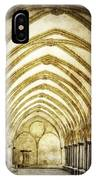 Salisbury Cathedral Cloisters 2 IPhone Case