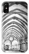 Salisbury Cathedral Cloisters IPhone Case