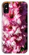 Salmon Color Glad IPhone Case