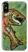 Salmon Fishing By V Lee IPhone Case