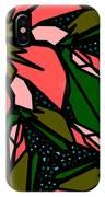 Salmon-pink IPhone Case