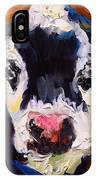 Salt And Pepper Cow 2 IPhone Case