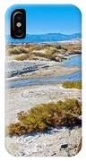 Salt Creek Trail Boardwalk In Death Valley National Park-california  IPhone Case