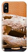 Salt Water Crocodile Skull IPhone Case