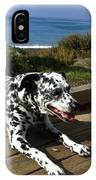 Samdog At The Beach IPhone Case