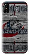 Samford Bulldogs IPhone Case